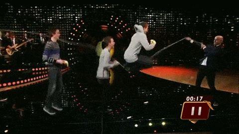 Team skijumping family