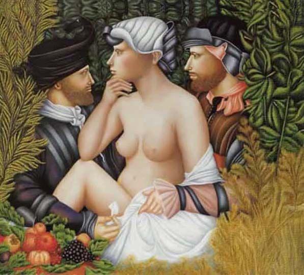 Arte perfeccionista, realismo a manera renacentista por Aldunate.