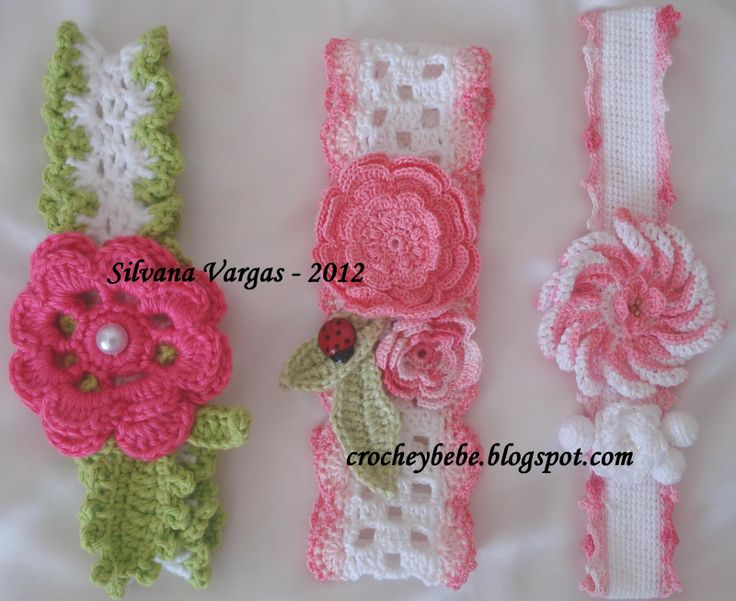 Crochet Baby - Headbands