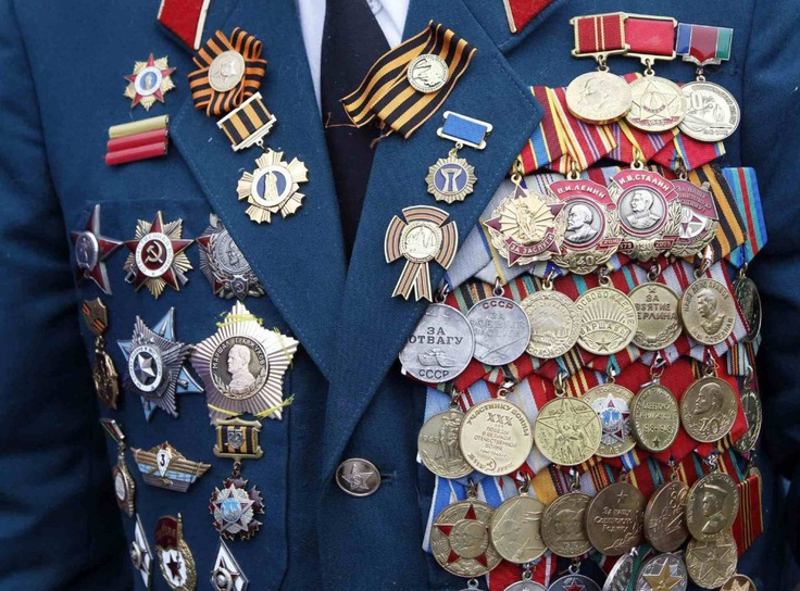 С днём победы!  9th of May - Russians commemorate the Day of Victory