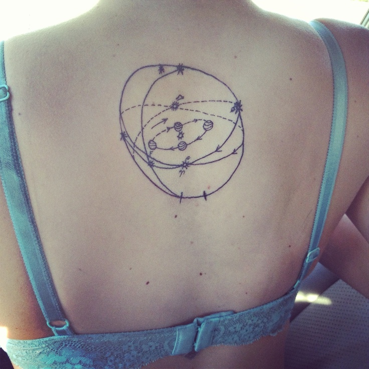 solar system tattoo designs - photo #35