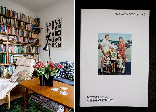 Livingroom--*love* book shelves