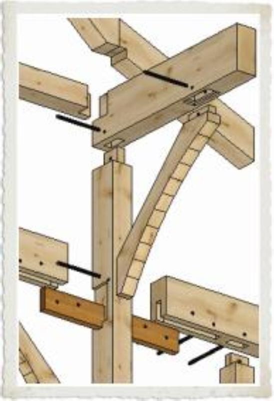 674 best Carpentry Reference images on Pinterest | Timber frames ...