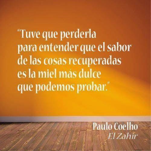 La miel más dulce que podamos probar... - @paulocoelho en #ElZahir - vía www.instagram.com/ComunidadCoelho   Comunidad Coelho: tu punto de encuentro con los fans de Paulo Coelho