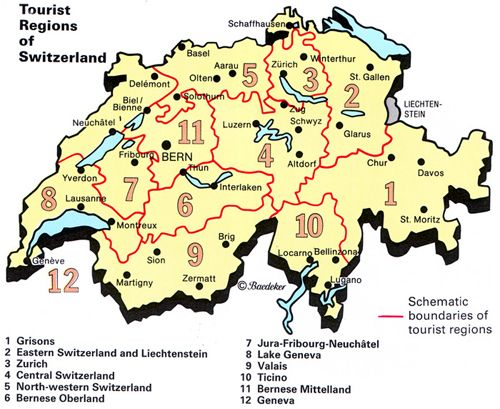 Top Attractions In Switzerland | Top Rated Tourist Attractions(Places) in Switzerland