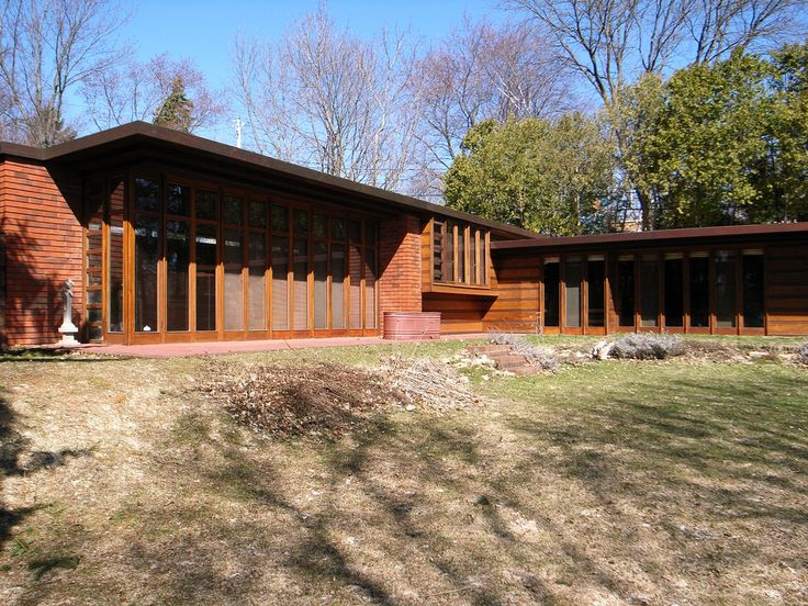 1000 images about fllw jacobs 1 house on pinterest for Cost of building a house in wisconsin