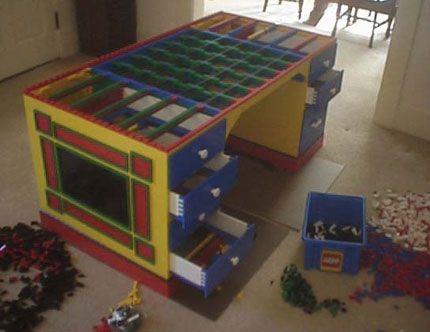 costruzione tavolo lego