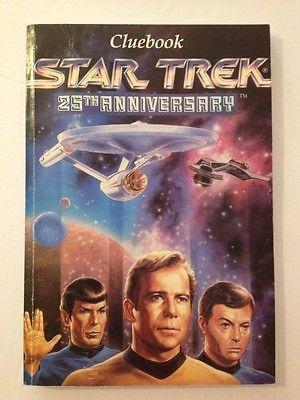 Star Trek 25th Anniversary Game Interplay Cluebook For Game Software 1993  | eBay