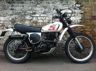 YAMAHA XT500 1978