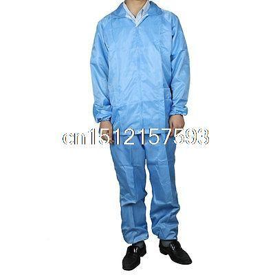 $22.54 (Buy here: https://alitems.com/g/1e8d114494ebda23ff8b16525dc3e8/?i=5&ulp=https%3A%2F%2Fwww.aliexpress.com%2Fitem%2FMen-Women-Blue-Stripe-Anti-Static-Overall-Uniform-M%2F32537645056.html ) Men Women Blue Stripe Anti Static Overall Uniform M for just $22.54