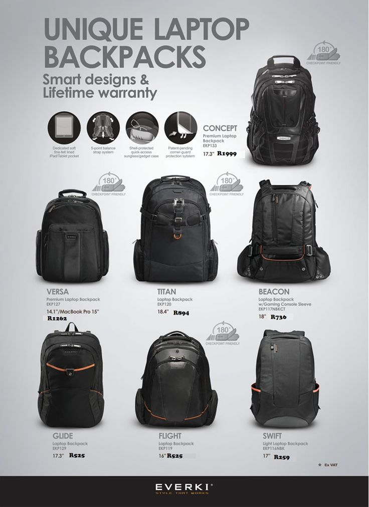 Unique Laptop Backpacks. Contact laurenp@ilembetech.co.za