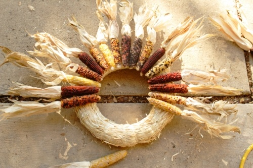 Corn Husk Wreath: How To