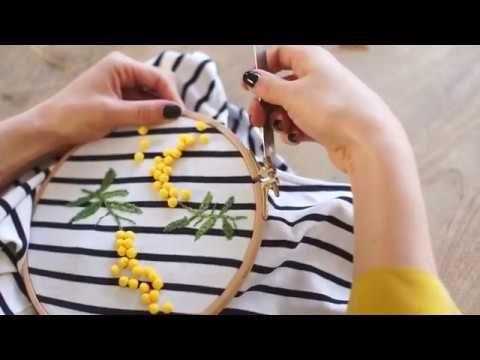 DIY de la broderie express Mimosa   Make My Lemonade