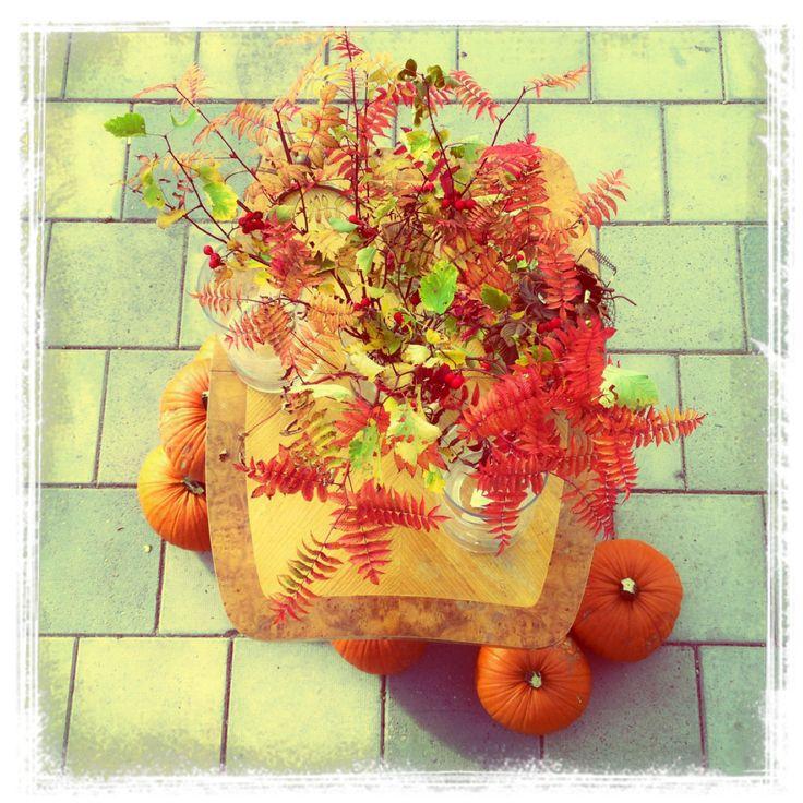 Vi har dukar upp till höst och välkomnar Oktober