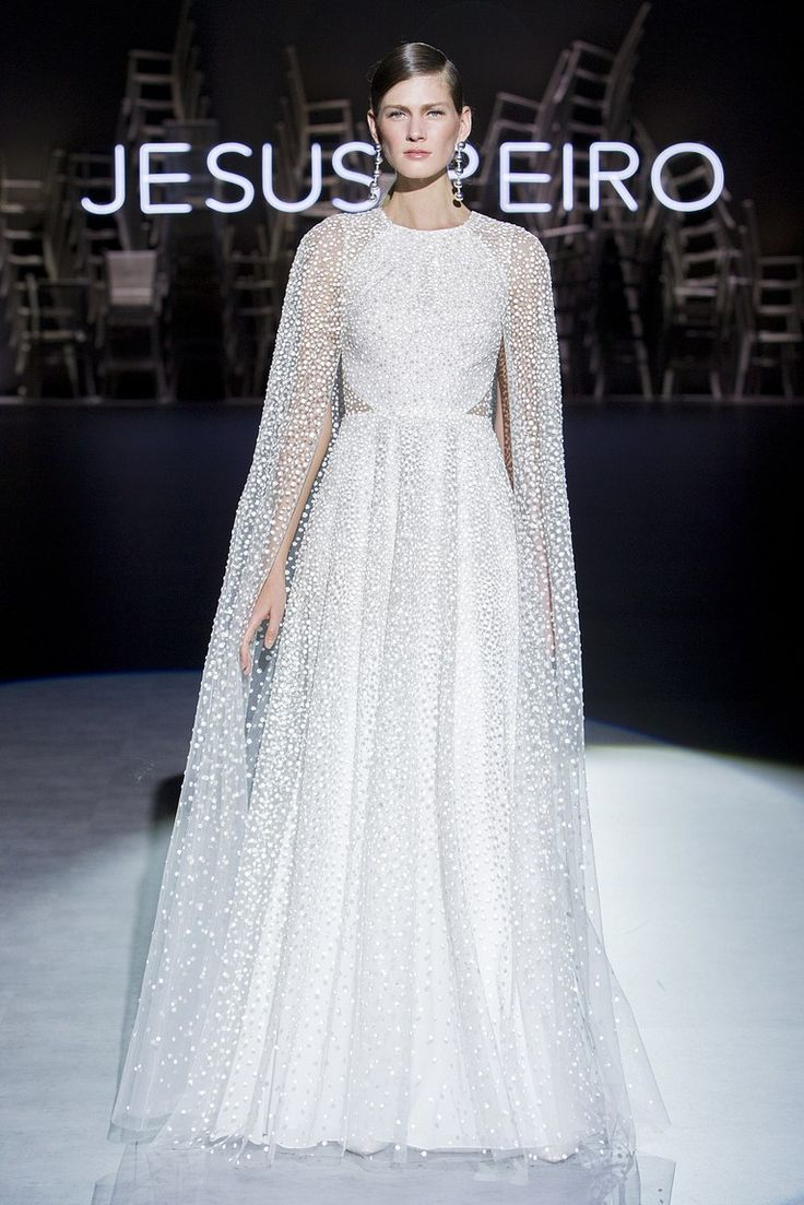 Jesús Peiró Bridal Spring 2020 Wedding dress trends