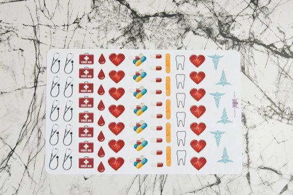 Doctor stickers / medicine / Hospital / sick