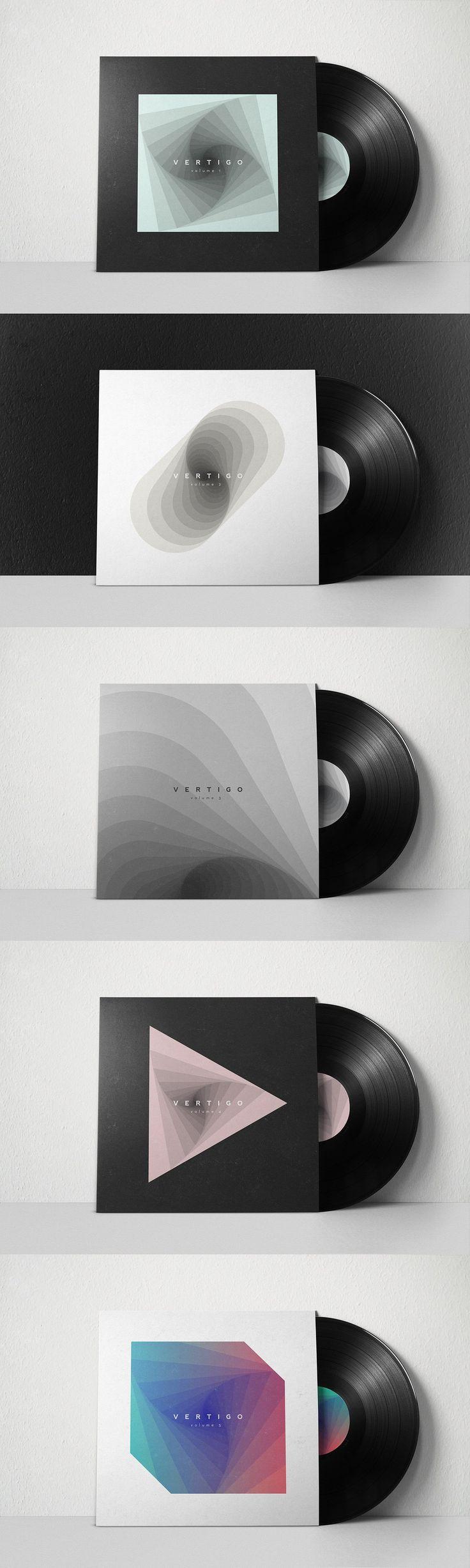 VERTIGO 1: abstract backgrounds by kloroform on @creativemarket