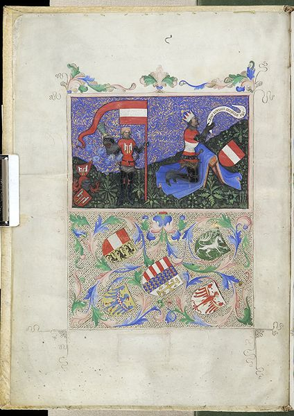 Office of the Feast of Corpus Christi, M.853 fol. 1v - Images from Medieval and Renaissance Manuscripts - The Morgan Library & Museum