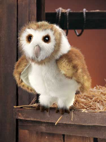 Barn Owl Hand Puppets by Folkmanis Puppets Inc.