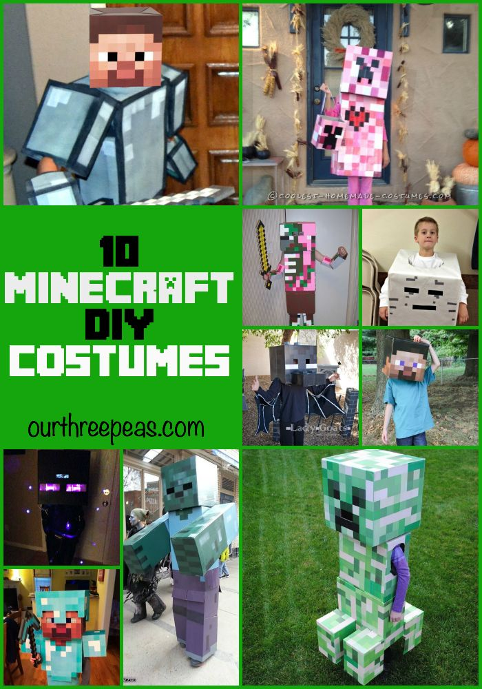 519 best images about Minecraft ideas on Pinterest ...Steve Minecraft Costume Party City