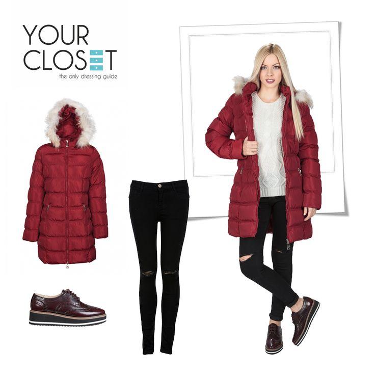 Aποκτήστε άψογο #στυλ και αυτό το #χειμώνα με τις προτάσεις του Yourcloset! #fashion #fashionlover #getthelook #lookoftheday #jacket #oxfords #red #black #autumn #winter #newcollection #woman #womanstyle #fashionblog #fashionblogger #newcollection #womenswear #followers #bestoftheday #fashionista #fashionaddict