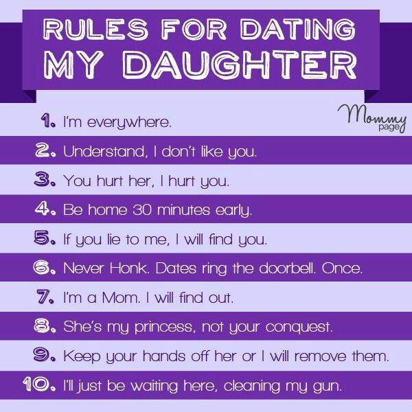 dating contract for dating my daughter mom