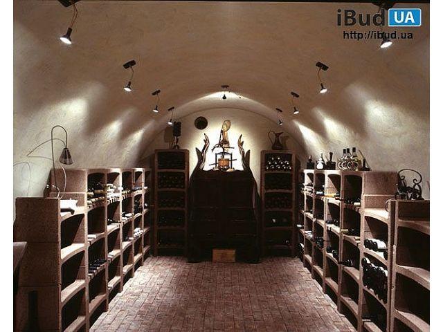 Стеллаж для вина фото, Винные погреба | ibud.ua