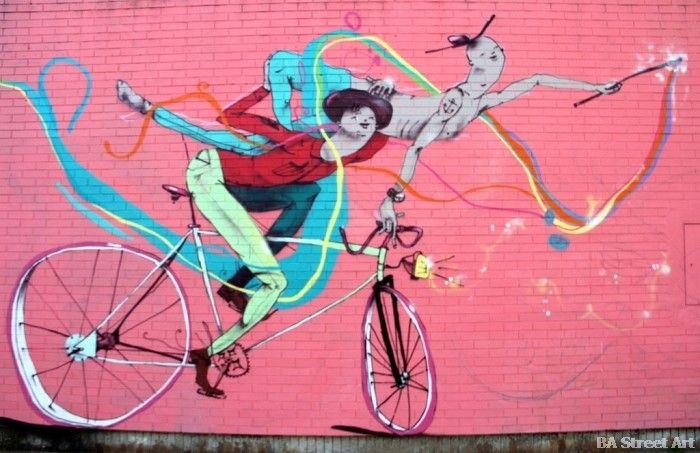 Mart artist interivew bici bikes buenos aires street art graffiti buenosairesstreetart.com