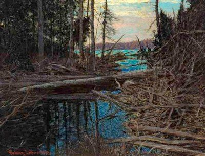 Frank (Franz) Johnston Art and Artwork For Sale by Pegasus Gallery of Canadian Art ~ Salt Spring Art Galleries