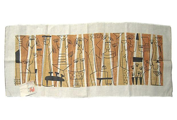Midcentury Table Runner on OneKingsLane.com