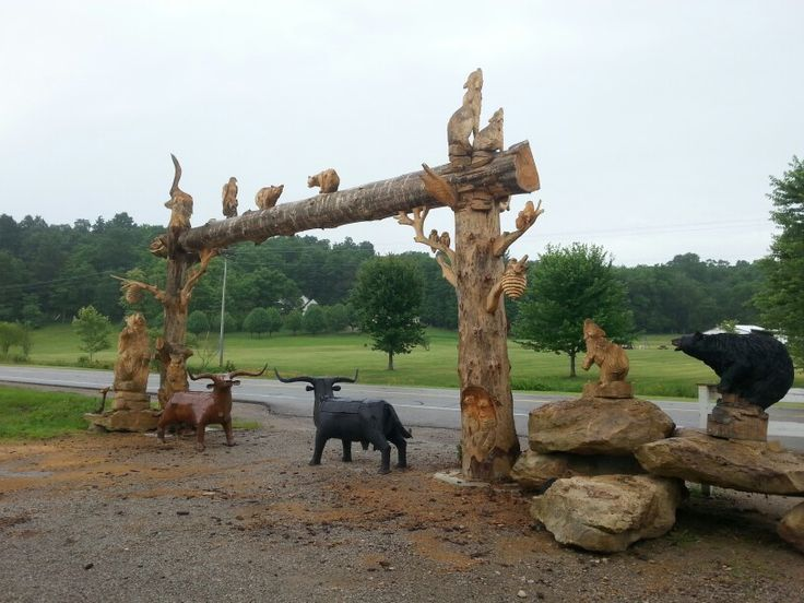 Best chainsaw carvings mount perry ohio images on