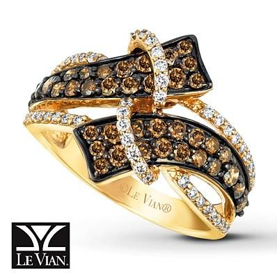 Sweeten up your fall with this decadent Le Vian Chocolate Diamond ring!