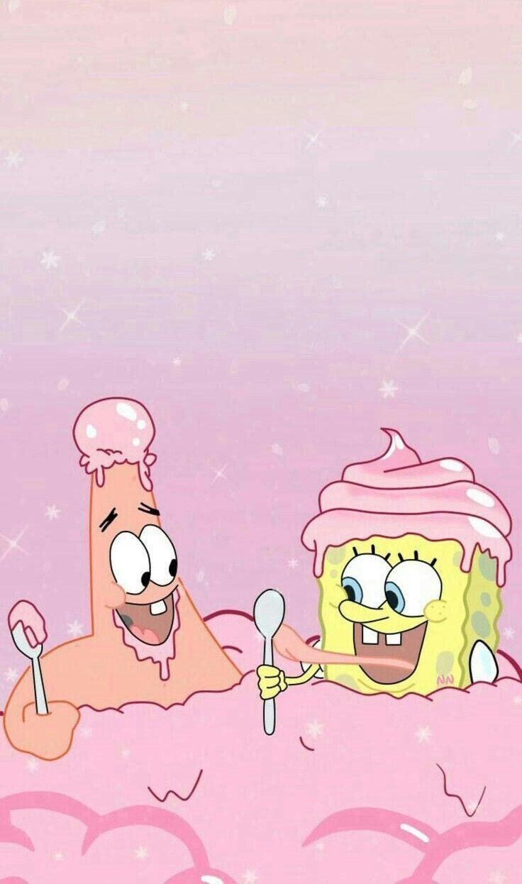 Spongebob wallpaper Patrick cute cool aesthetic krusty