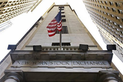 The Dow Jones industrial average fell 34 points, or 0.2 percent, to 17,705. The Standard & Poor's 500 index edged up a point to 2,058. The Nasdaq composite index added 14 points, or 0.3 percent, to 4,750.