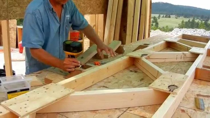 How to building roof trusses from start to finish these for Building your own roof trusses