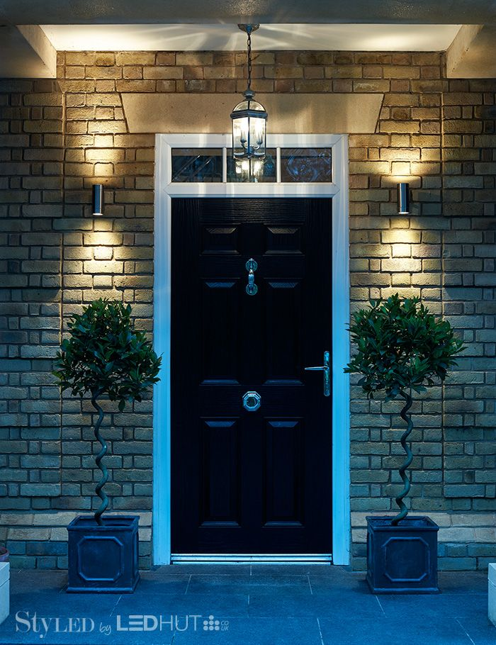 Light up your outdoor spaces with stylish and practical LEDs. Spruce up your shrubs or illuminate doors and decking #StyLEDlighting
