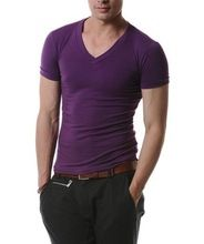 2014 custom Good quality soft bamboo fiber t-shirt for men  best seller follow this link http://shopingayo.space
