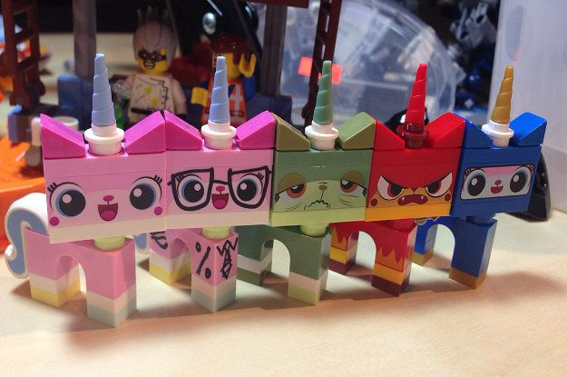 """Community Post: 17 Signs Princess Unikitty From """"The Lego Movie"""" Is All Of Us"""