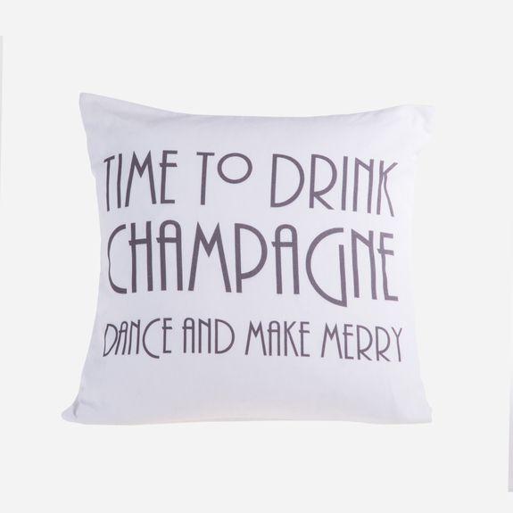 Superbalist - Champagne Cushion Cover – White