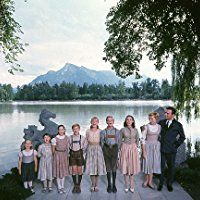 """The Sound of Music"" Kym Karath, Debbie Turner, Angela Cartwright, Duane Chase, Heather Menzies, Nicholas Hammond, Charmian Carr, Julie Andrews, Christopher Plummer 1965 20th"