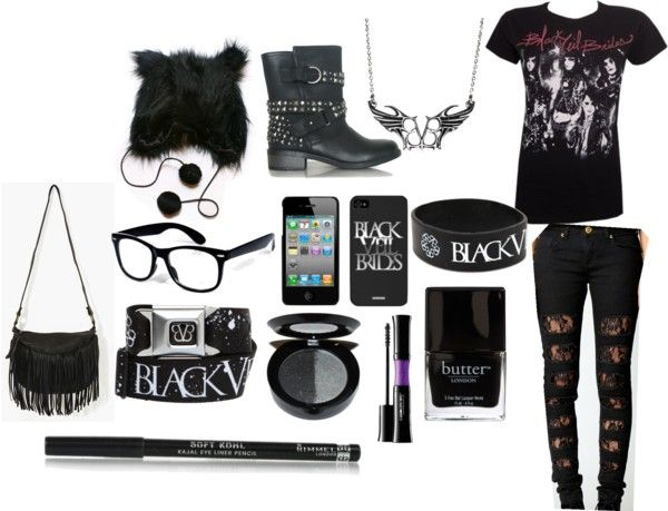 """""""Black Veil Brides outfit"""" by lia-horan on Polyvore"""