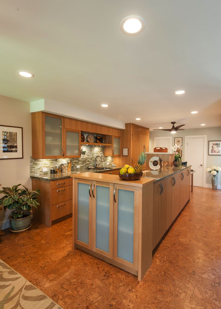 Kitchen. Designed by Archipelago Hawaii; Built By Mokulua High Performance Builders; Photography by Augie Salbosa
