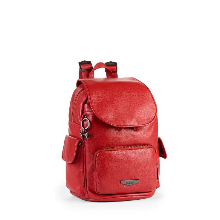 Kipling Red Back-Pack Style Bag