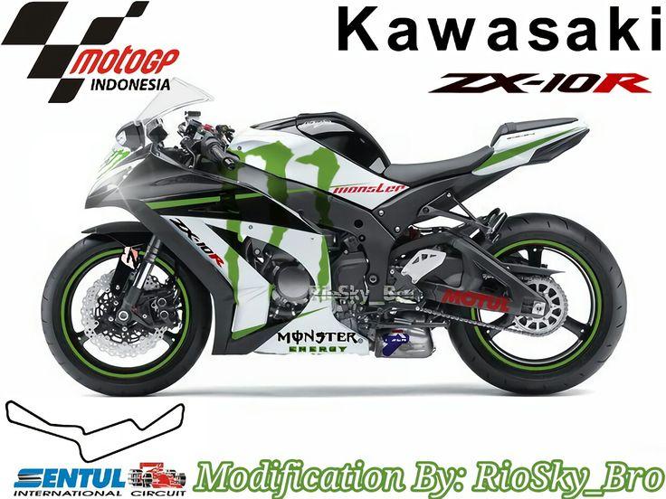 After Modification Kawasaki Zx10R