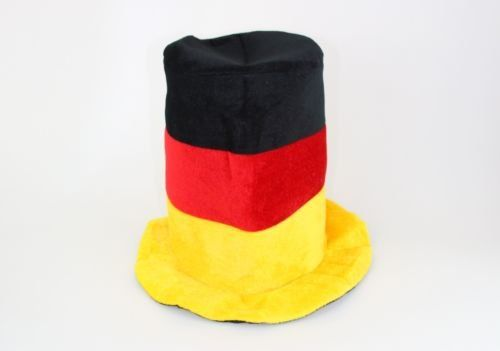 Germany Party Hat  World Cup Halloween or Oktoberfest Top Hat  Large Size * You can find more details by visiting the image link.