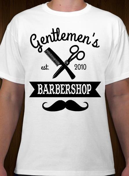 Barber T Shirt Designs   Your Barbershop T Shirt Idea And Template Business T Shirt Logos