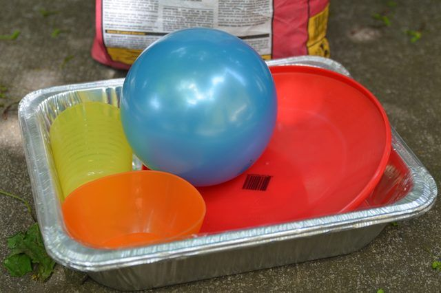 How to Make Concrete Molds From Plastic Items