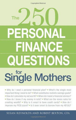 29 best 2013 financial resolutions images on pinterest personal 250 personal finance questions for single mothers libraryusergroup the library of fandeluxe Image collections