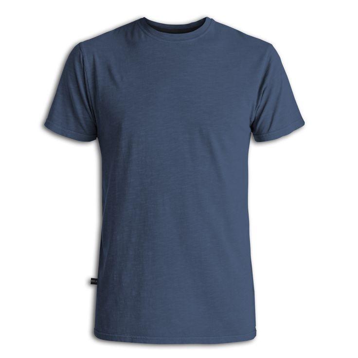 Kaos polos lengan pendek (Biru tua) - Basic Tshirt (Navy) - Int:S