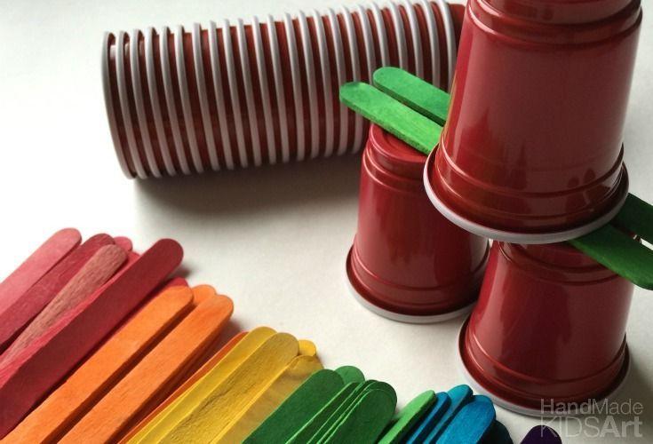 Open-ended building party - STEM Preschool Activities
